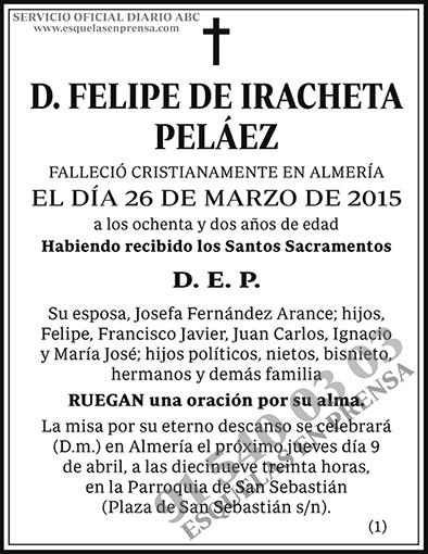 Felipe de Iracheta Peláez